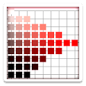Munsell color chart icon