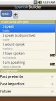 Screenshot of Learn Spanish - Phrasebook