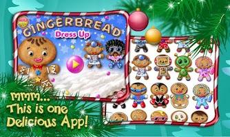 Screenshot of Gingerbread Dress Up XMAS Game
