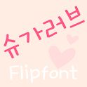 MDSugarlove™ Korean FlipFont icon