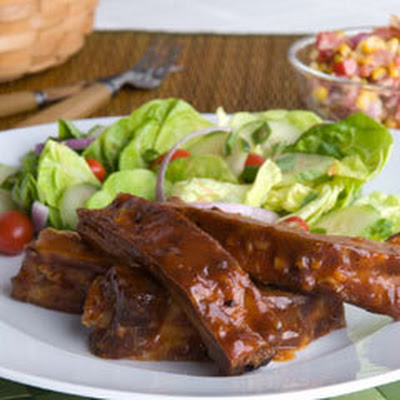 Maple Glazed Ribs