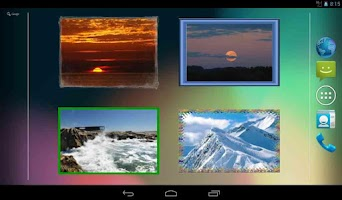 Screenshot of Photo Widget for Android Free