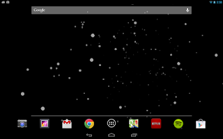Screenshot of Starfield (Live) Wallpaper