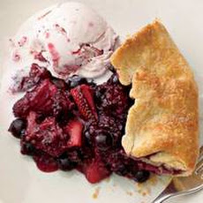 Rustic Tri-Berry Pie