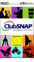 Screenshot of ClubSNAP Photography Community