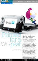 Screenshot of GameQ Magazine
