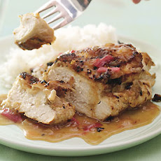 Lemon-Rhubarb Chicken