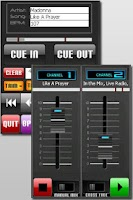 Screenshot of DJ Party Mixer MP3 Player