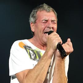 Ian Gillan Of Deep Purple by Shelle Macpherson - People Musicians & Entertainers