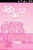 Screenshot of GO Locker Theme Pink Rabbit