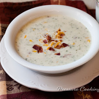 Chunky Potato Cheese Soup