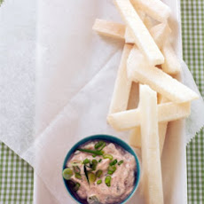 Jicama Sticks with Chili-Lime Dip