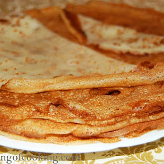 Thin Russian Pancakes