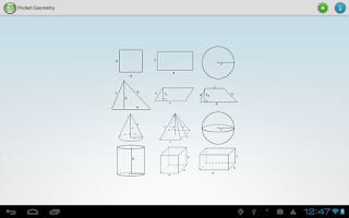 Screenshot of Pocket Geometry Free