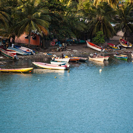Tiny Vessels by Matt Meyers - Landscapes Travel ( port, castries, vacation, st lucia, approach, travel, summit, favorite, cruise, island )
