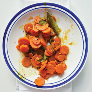 Carrot Kari (Indian-Style Carrots With Mustard Seeds)