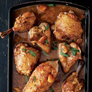 Baked Chicken With Garlic Cloves Recipes