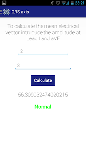 Medical calculator - screenshot