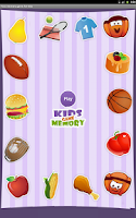 Screenshot of Memory games for kids free.Fun