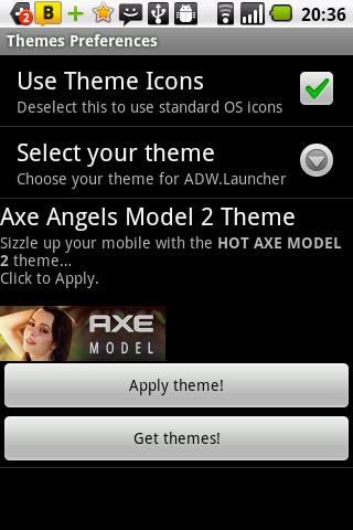 Axe Angel Model 2 Theme