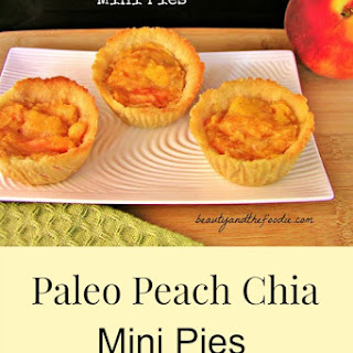 Paleo Peach Mini Pies