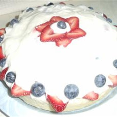 Red, White, and Blueberry Shortcake