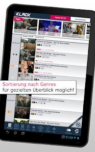 KLACK TV-Programm (Tablet) APK for Blackberry
