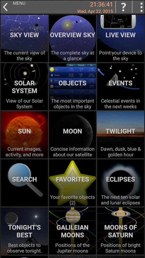 Mobile Observatory - Astronomy Screenshot 3