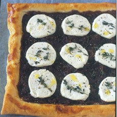 Red Onion and Goats' Cheese Tart