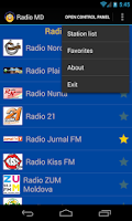 Screenshot of Radio MD