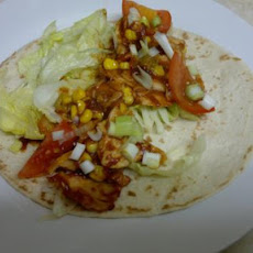 Blast off Burritos - Chicken and Corn