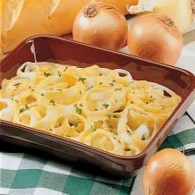 Cheesy Baked Onions
