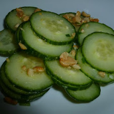 Nutty Cucumber Salad