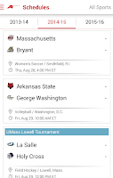 Screenshot of Atlantic 10