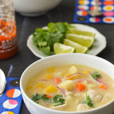 Quick Winter Coconut Soup