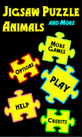 Screenshot of Jigsaw Puzzle Animals and More