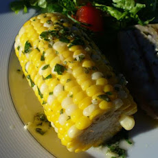 Greek-Style Corn on the Cob a La Evelyn