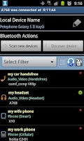 Screenshot of Bluetooth Manager ICS
