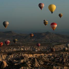 Cappadocia by Dimitar Pavlov - Landscapes Caves & Formations ( formations, turkey, cappadocia )