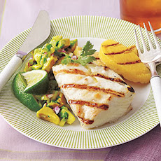 Grilled Halibut With Cilantro Garlic Butter Recipes — Dishmaps
