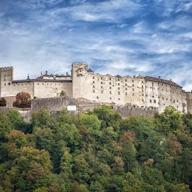 Fortress Hohensalzburg, Austria by Paul Runze - Buildings & Architecture Public & Historical ( salzburg x castle x fortress x hohensalzburg x austria, family )