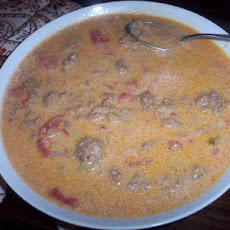Cheeseburger Soup III