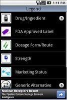Screenshot of Pocket Rx Guide Free