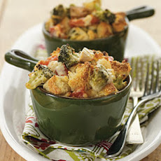 Chicken and Broccoli Cobbler