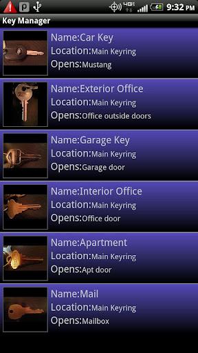 KeyRing Manager