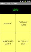 Screenshot of Vocabs Vocabulary Trainer