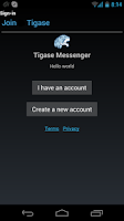 Screenshot of Tigase Messenger Free
