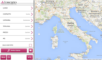 Screenshot of Gruppo Toscano Immobiliare