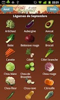 Screenshot of Fruits et Légumes de Saison