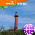 Jupiter, Palm Beach Street Map icon